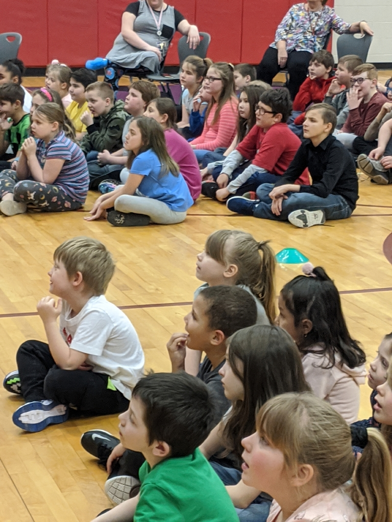 students at EPE had a great time listening to the Kindness Adventure Assembly!