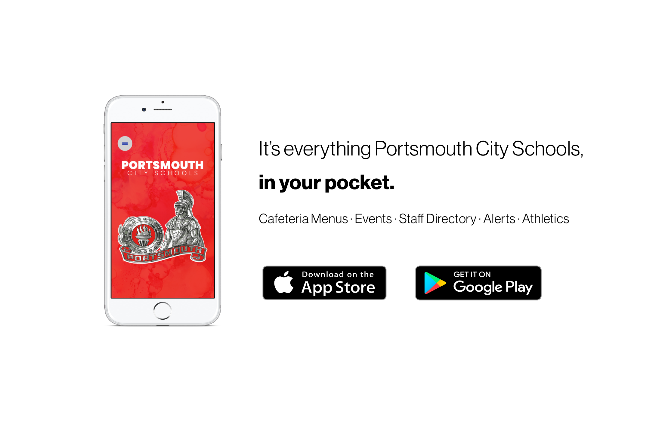It's everything Portsmouth City Schools, in your pocket.